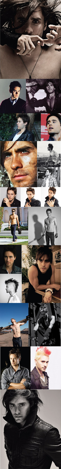 Jared Leto Gay Nude jaredleto collage man crush day seconds mars frontman jared leto