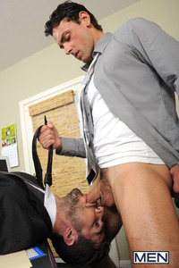 Jeremy Bilding Porn men suited fuck dean monroe jeremy bilding gay office porn photo