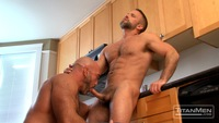 Jesse Jackman Porn hairy muscle hunks jesse jackman dirk caber trade blow jobs flip flop fuck extra firm from titan men pic