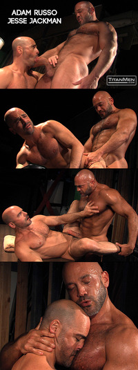 Jesse Jackman Porn collages titanmen adam russo jesse jackman titan mens down dirty