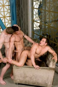 Jesse Santana Porn young muscular studs dylan roberts jesse santana colby keller suck dick fuck gay threeway orgy indiscretion from falcon studios pic