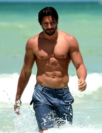 Joe Manganiello Porn wtfsg joe manganiello shirtless blood hunk hot body can yours