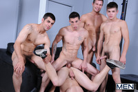 Johnny Rapid Porn blaze johnny rapid hayden richards dominic reed haze logan vaughn jizz orgy happy anniversary men
