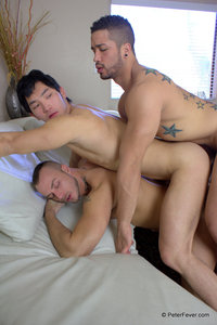 Asian Gay Porn peter fever eric east trey turner jessie colter white muscle guys fucking asian guy amateur gay porn sexy gets fucked hard amatuer threesome