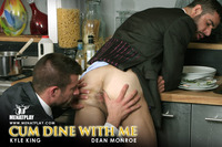 Kyle King Porn masterfile largest gallery men play cum dine starring kyle king dean monroe