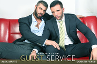 Latin gay men XXX guest service aff page