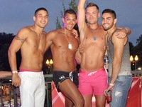 Latin Gay Pics joining hearts piedmont projectq large atlanta best gay things this weekend