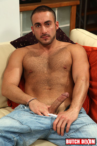 Athletic Man Gay Porn butch dixon riley coxx