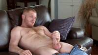 Athletic Man Gay Porn randy bench southern strokes gay porn hairy chest red hair ginger firecrotch scruffy thick athletic build softball player woof alert
