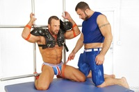 Athletic Man Gay Porn nate karlton spencer reed bound jocks nasty pig jockstrap gay porn teasing torture bondage scruffy muscle bear masculine rough punching abs blowjob sucking rimming blindfold muscular football gear athletic boy