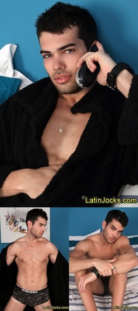 Leo Ford Porn naked latin jock super hot yro leo dark looks eyes jerks his huge cock gay porn gallery here
