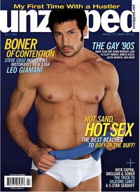 Leo Giamani Porn leo giamani july cover unzipped