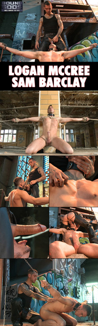 Logan McCree Porn collages boundgods logan mccree sam barclay back