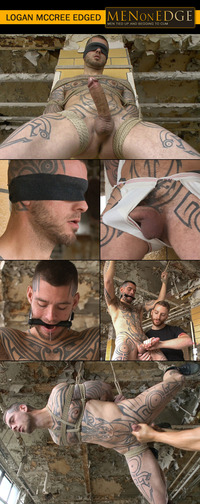 Logan McCree Porn collages menonedge logan mccree edging session cock edged