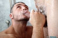 Marc Dylan Porn marc dylan christian wilde manroyale sensual gay porn get soapy
