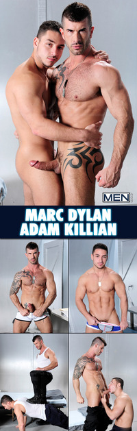 Marc Dylan Porn collages men adam killian marc dylan hot gay sloppy seamen
