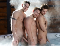 Marko Lebeau Porn mygayus menofmontreal benrose markolebeau haydencolby ben rose marko lebeau hayden colby make this hot tub really men montreal