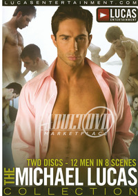 Michael Lucas Porn ivd large front products michael lucas collection dvd entertai
