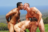 Adam Champ Porn adam champ gay threeway hawaii eric valentin gage westin enjoy fuck
