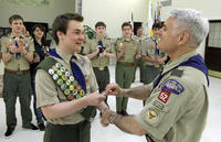 Military Gay Pics pascal tessier openly gay eagle scout scouts honor