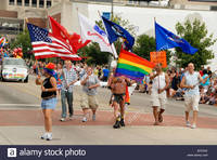 Military Gay Pics comp military men women carrying flags united states stock photo