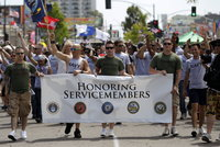 Military Gay Pics nationworld impact photo military gay pride parade san diegojpg nation ssf features memb