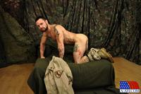 Military Gay Porn all american heroes sergeant miles army guy jerking off cock fingering ass amateur gay porn happy veterans day straight jerks his thick