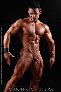 Muscle men Naked alejandro manifestmen tan muscular body page