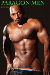 Muscle men Naked male stripper muscle hunk adonis jay gets naked strokes his black cock paragon men pic
