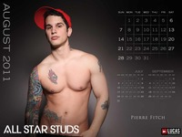 Pierre Fitch Porn august pierre fitch grated free lucas entertainment calendars