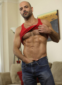 Rocky LaBarre Porn collages pantheonbear adam russo bald hairy hunk