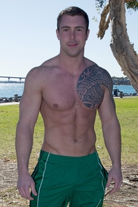 Sean Cody's Calvin Porn tattooed muscle hunk bran seancody bareback gay ass fuck american boys men ripped abs jocks raw porn pics gallery tube video photo