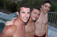 Sean Cody's Calvin Porn cant stop staring peters beautiful blue eyes barebacks joshua creampies calvin this sean cody three way