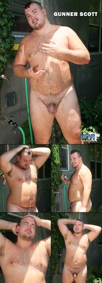 Bears Gay Porn collages bearfilms bear cub shower gunner scott chub