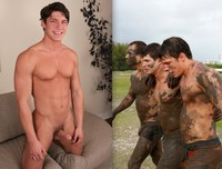 Sean Cody's Marshall Porn bradn sean codys brandon looks good covered mud does cum