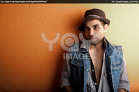 Sexy Gay Pics sexy gay man jeans hat stock