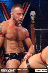 Spencer Reed Porn spencer reed leather rubber fetish gear hot house muscular gay porn star hairy beard sektor fucking marc dylan rimming eating ass thick cock stick horny fucker hardcore xxx action sweaty manly doodle