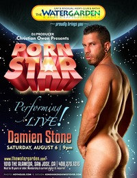 Steve Cruz Porn pornstar smallposter damienstone christian owen cranking bath house thermostat cocked damien stone