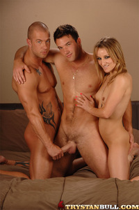 Trystan Bull Porn trystan bull rod daily jessie cox bisexual mmf threesome threeway fucking sucking eating pussy blonde chick gay porn stars hard cocks muscular bodies hardcore xxx action way