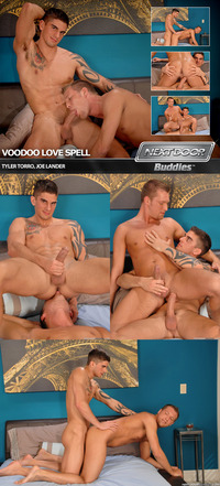 Tyler Torro Porn tyler torro joe lander hunks voodoo love spell attachment