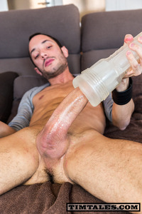 uncut cock timtales esteban biggest uncut cock ever amateur gay porn fleshlight fleshjack spanish dude jerks off