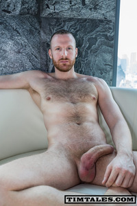 uncut cock timtales tim bangkok huge uncut cock redhead redheaded shows off his massive erect
