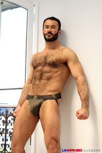 Wilfried Knight Porn hairy uncut wilfred knight foreskin covered cock hunk