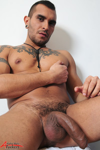 Big cock Gay Sex lucio saints alpha male fuckers gay porn solo fat uncut cock huge uncircumcised dick tattoos inked alternative scruffy masculine foreskin doodle