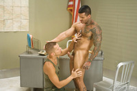 xxx uncut cock hairy tattooed muscle hunk alexsander freitas muscular stud shane frost suck cock fuck mustang studios man falcon xxx pic