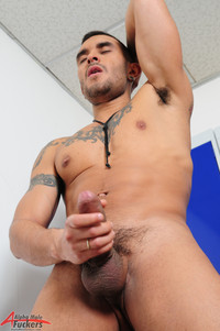 Big dick Male Gay Porn lucio saints alpha male fuckers gay porn solo fat uncut cock huge uncircumcised dick tattoos inked alternative scruffy masculine foreskin entry