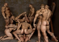 3 d gay sex gay world made group