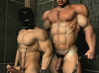 3 d gay sex pics dgays strong gay bdsm master ans slave bondage brutal