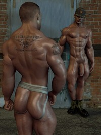 3 d gay sex pics oiled gay soldiers ready hot