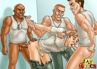 3d cartoon porn gay naughty fellows enjoy fucking each mouths asses gay cartoon porn